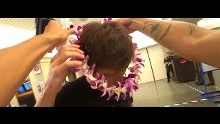 ハワイの空港で大物芸能人と遭遇&タ〇シさんがハワイに帰ってきたぞ