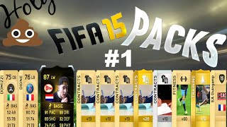 """Fifa 15 , PACK OPENING #1 """" Holy Shit!!!"""""""