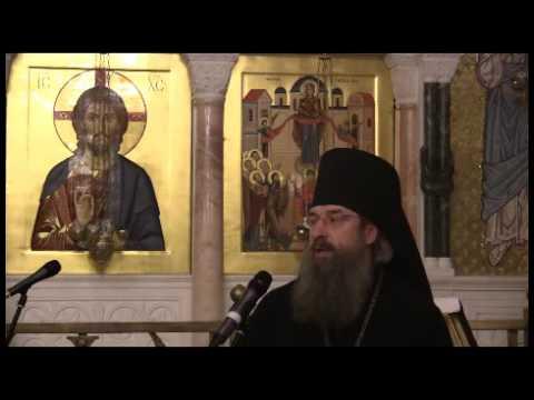 Воскресная беседа архимандрита