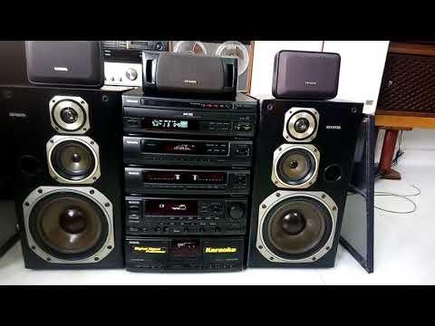 Đã Bán..... Dàn đại Aiwa Z9300, Bass 23cm, 5 Thớt, 5 Loa, điện 4 Dòng. Toàn 0947350055