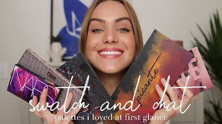 SWATCH + CHAT: New Release Eyeshadow Palettes + Where I've Been | Mariah Leonard