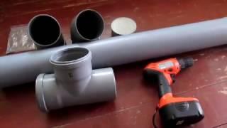 Бункерная кормушка для гусей//делаем сами//очумелые ручки