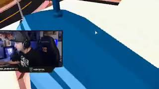 Summit IG rage in Roblox Cops and robbers
