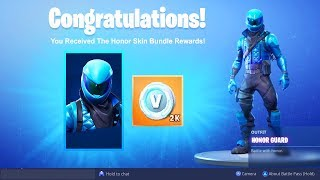 "How to Get ""HONOR GUARD SKIN FREE"" in Fortnite! *NEW* FREE HONOR GUARD SKIN METHOD! Free Skin Codes!"