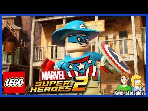 Lego Marvel 2 Free Roam Adventures Part 17 Old West Fun