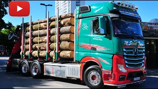 Stiedl Holztransporte Mercedes Benz Actros