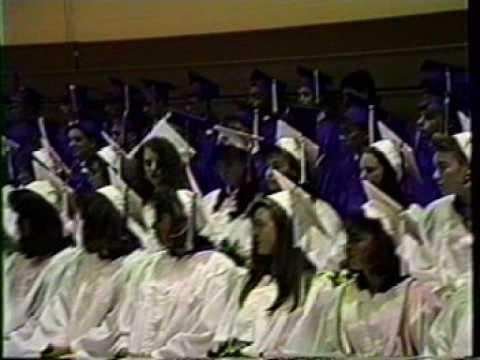 Mashpee Middle School Graduation 1991 Part 2