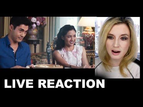 Crazy Rich Asians Trailer REACTION