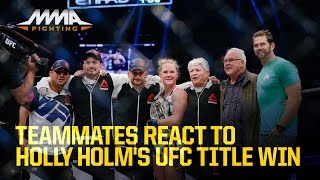 Teammates React to Holly Holm