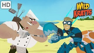 Wild Kratts - Protecting Sea Creatures from The Bad Guys