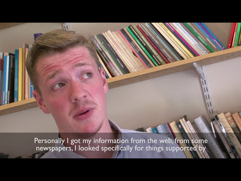 Young People -  Experience Of Campaigns