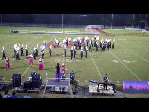 North Laurel High School Band - Casey Co Finals2016