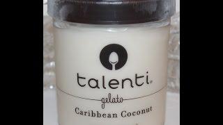 Talenti Gelato: Caribbean Coconut Review