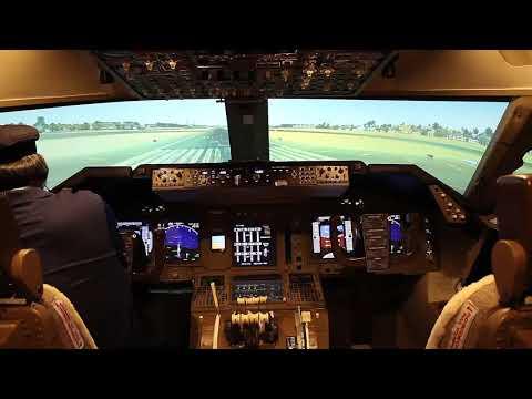 747 Flight-Sim - Double Engine Failure!! Dubai-Mumbai with MAJOR Failure Before Landing!