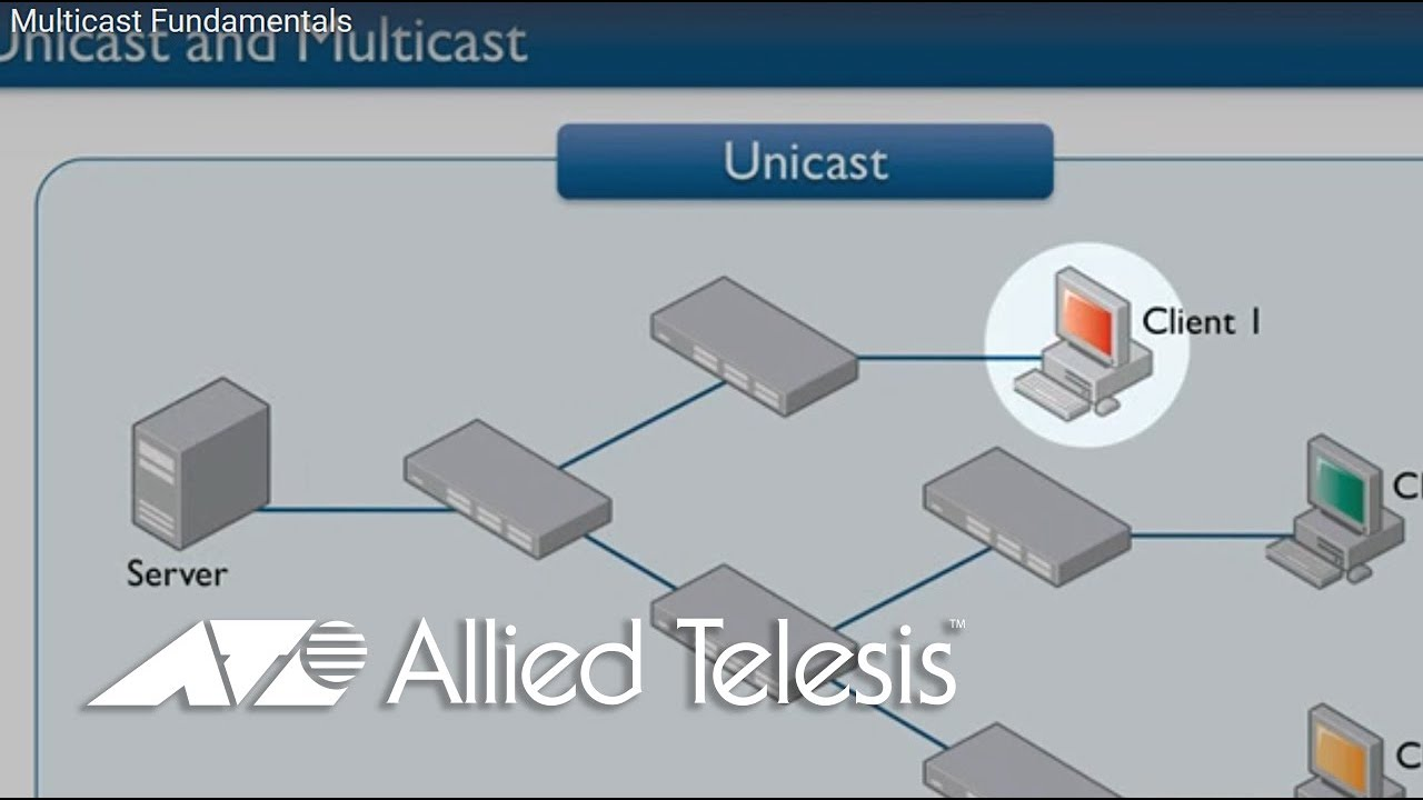 Multicast Fundamentals