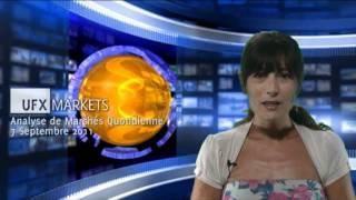 UFXMarkets -Franc suisse CHF, EUR, USD Forex Analyse de Marchés-Septembre-07-2011