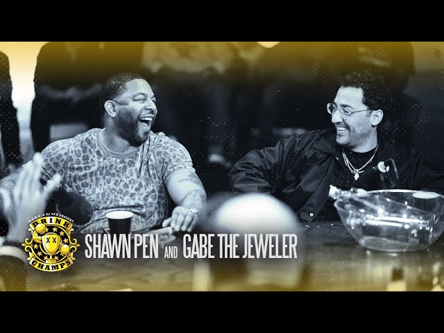 Drink Champs w/ Shawn Pen and Gabe The Jeweler (Video)