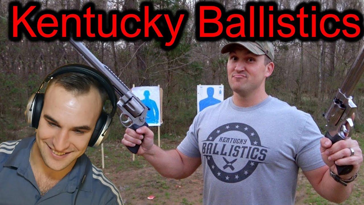 Estonian Soldier reacts to Kentucky Ballistics