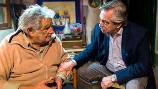 EN VIVO   Alberto Fernández da una charla con Pepe Mujica en el CNBA