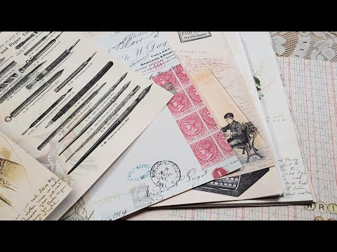 """Postage Due"" NEW Journal Kit: Vintage Letter Writing and Postal Service"