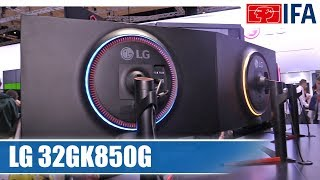 LG 32GK850G Gaming-Monitor (Deutsch) #IFA2017