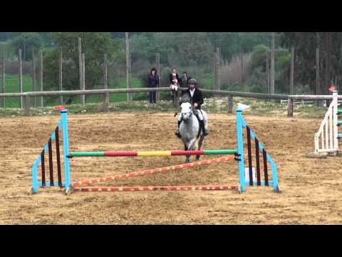 Nick Drougas and Dimitris Amer-horse-back riding competitions