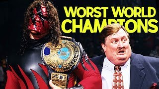 10 Worst WWE World Champions of All Time!