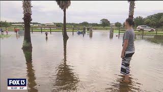Hurricane Elsa drops 9 inches of rain on parts of Florida