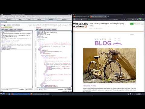 Web Cache Poisoning Via An Unkeyed Query String (Video Solution)