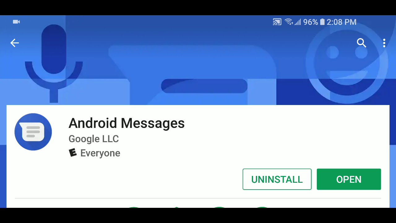 Android messages is a nice sms MMS app for sending receiving text messages