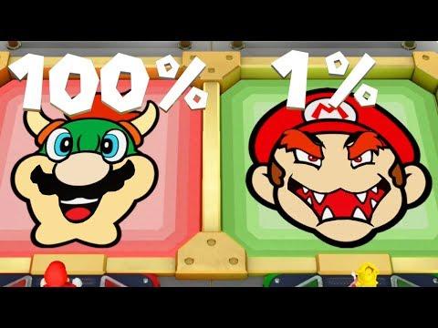 Super Mario Party - All Score Minigames (2 Players)