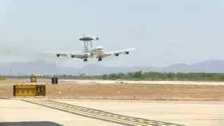 NATO E-3A Arrives at Davis-Monthan Arizona (Jade Helm 15)