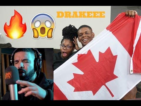 #1 Trending 🔥   Drake - Behind Barz Link Up TV (Kanye Diss!!??)   REACTION!!