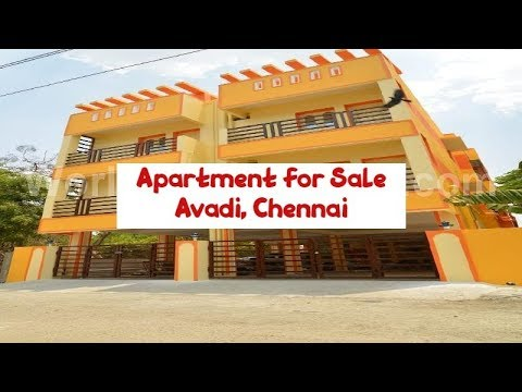 2BHK Apartment For Sale At Avadi, Chennai | Rs. 28.81 Lakhs | World New Property