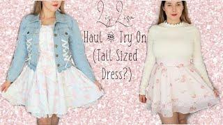 Mini Liz Lisa Haul & Try On (Tall Sized Dress?)