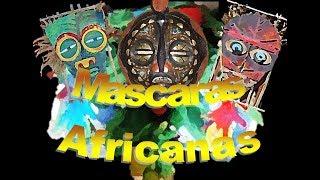 Como fazer Mascaras Africanas
