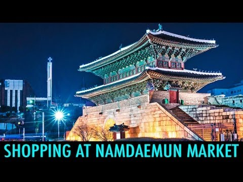Shopping at Namdaemun Market (KWOW #150)