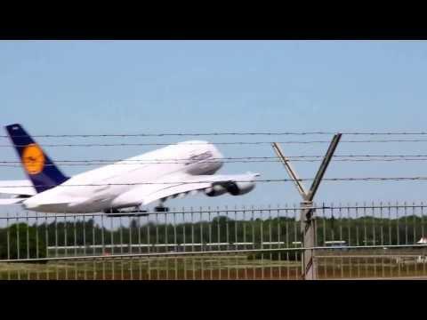 A380 waving goodbye!!!