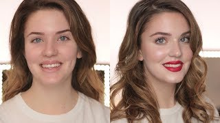 ALI ANDREEA DOES MY MAKE-UP - Easy Party Make-Up Look - #OnFleek Episode 2