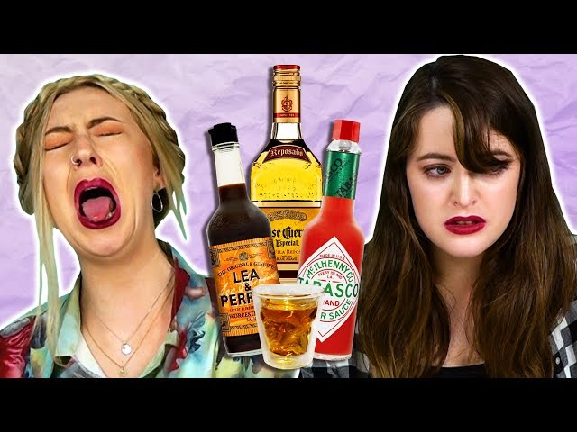 Irish People Try Disgusting Alcohol Shots - Round 2