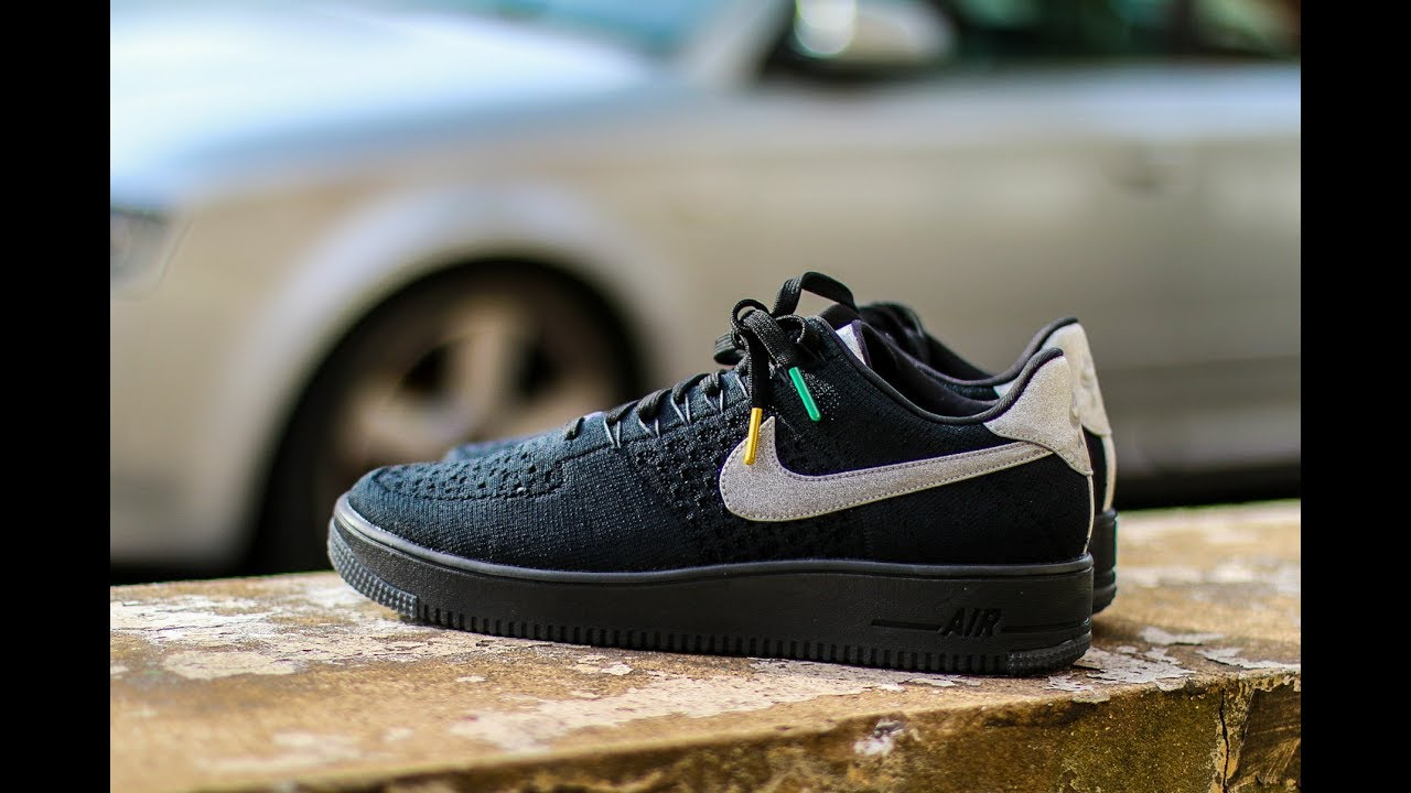 pretty nice 5d422 0531b QuickSchopes 018 - Nike Air Force 1 Flyknit Ultra All-Star Weekend 2017 -  Schopes