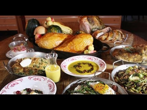 Two chefs step up for a Thanksgiving challenge