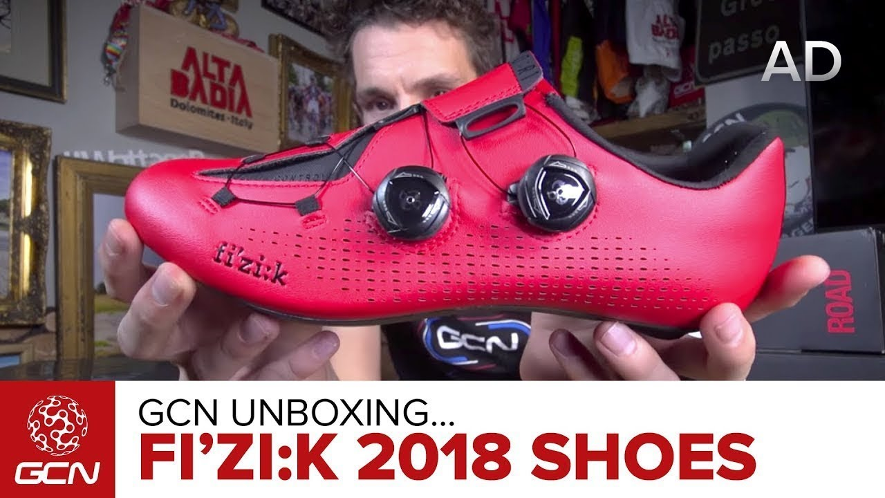 Unboxing The NEW fi'zi:k 2018 Road Cycling Shoe Range