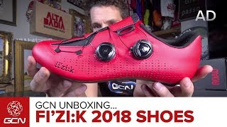 Unboxing The NEW fi'zi:k 2018 Road Cycling Shoe Range