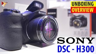 Sony DSC-H300 Point & Shoot Camera With 35x Optical Zoom | Unboxing & Overview | Data Dock