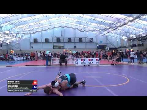 65 Consi of 64 #2 - Nathan Smith (Bison WC) vs. William Kui (New York City Regional Training Center)