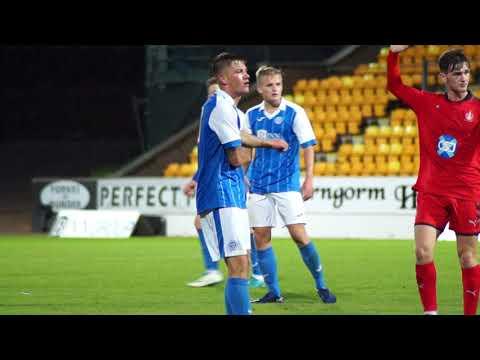 Alec Cleland and Callum Hendry | Post Match U20s v Falkirk | 12-09-17