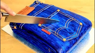 3D JEANS CAKE | Realistic Cakes That Looks Like Everyday Objects
