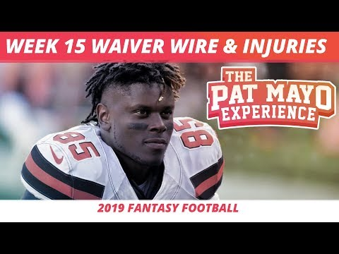 2019 Fantasy Football Rankings — Week 15 Waiver Wire, NFL Injury Report, DK Showdown, Spreads