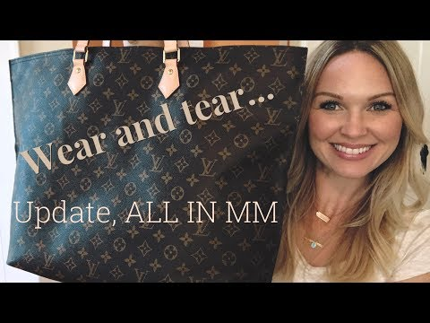 Louis Vuitton ALL IN || UPDATED REVIEW || WEAR AND TEAR